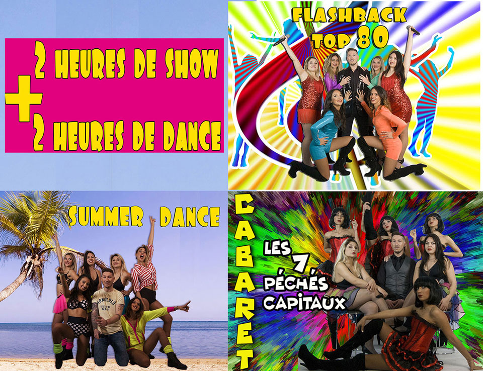 shows 2020 prodkoala : années 80, summer dance, cabaret